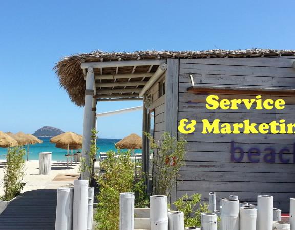 Beachclub strantent marketing service klantgericht, bedrijven