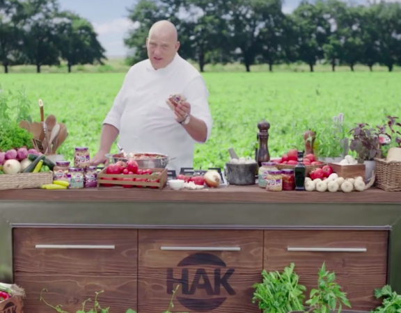 Marketing HAK groenten commercial Herman den Blijker