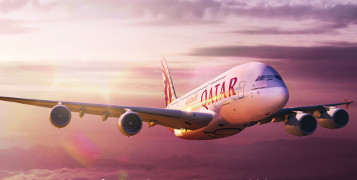 Great flight Qatar Airways