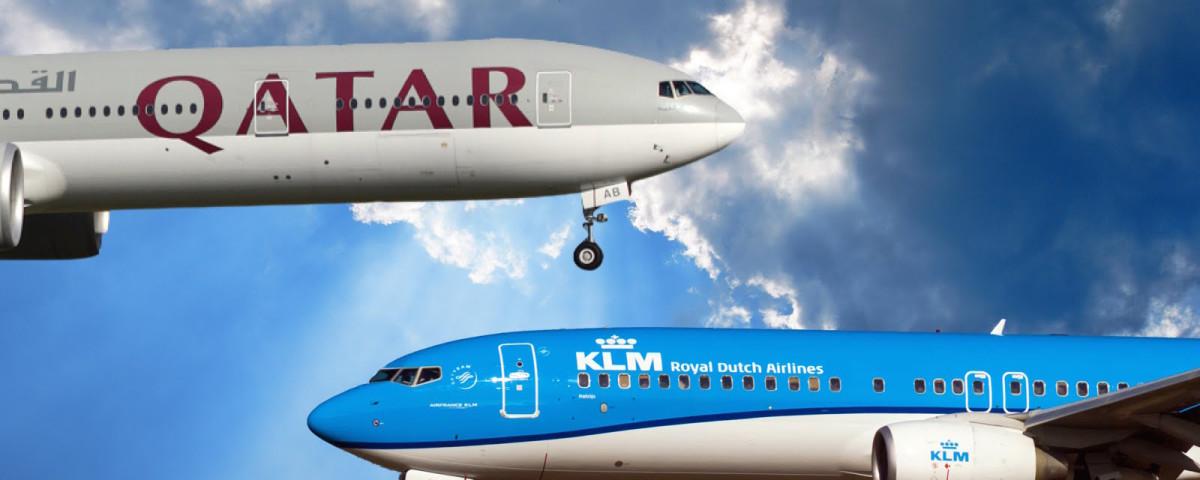 KLM Werelddeal Weken, Qatar Airways