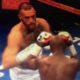 Mayweather en McGregor bij Face off, marketing, bokswereld, gevecht, sponsors, miljard
