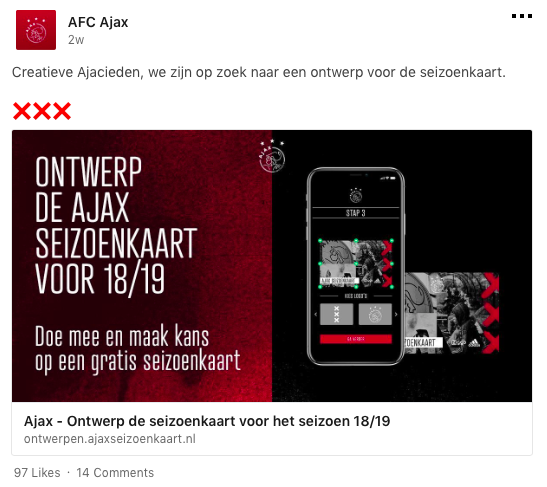 AJAX, social media, LinkedIn, tips