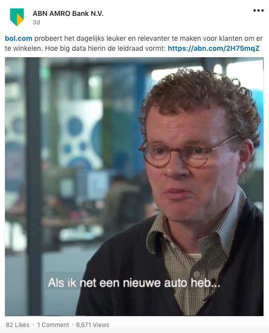 ABN AMRO, followers, social media, LinkedIn, tips