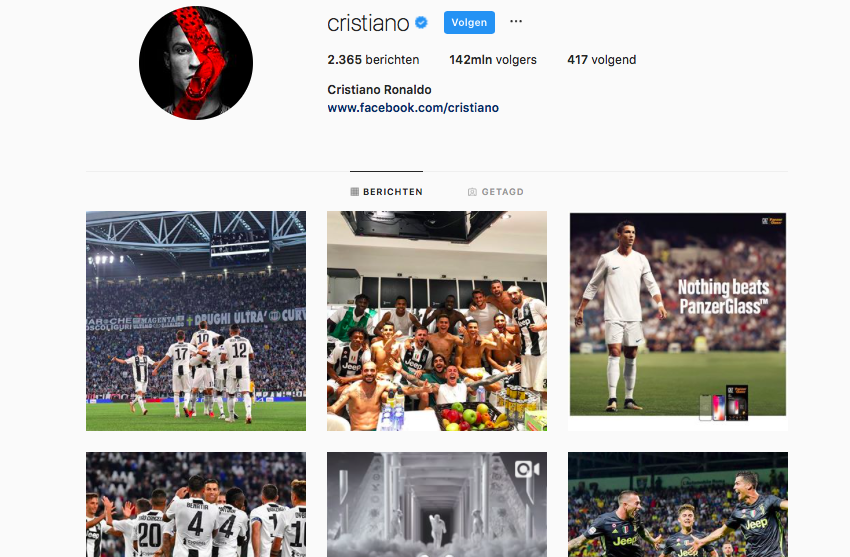 Cristiano Ronaldo Instagram, Nike, marketing, Adidas, Messi
