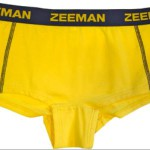 gele Zeeman boxershort marketing Calvin Klein