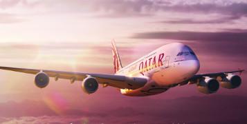 Great flight Qatar Airways