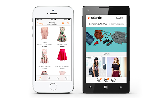 Zalando Ap, retail, mobile, mobielbetalen, Apple pay