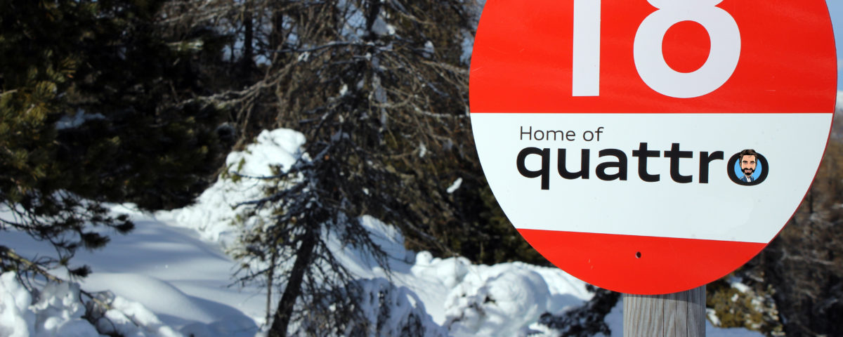 Audi, home of quattro, Q3, Q4, Q5, Kaprun